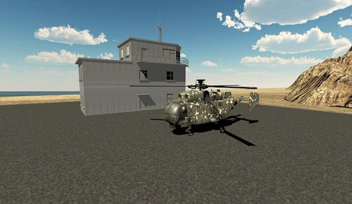 现代直升机模拟器2020游戏下载