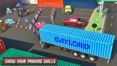 港口卡车司机停车中文最新版