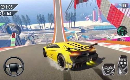 超级赛道汽车跳跃3D游戏下载