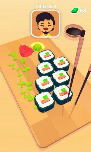 寿司大厨无限金币钞票破解版