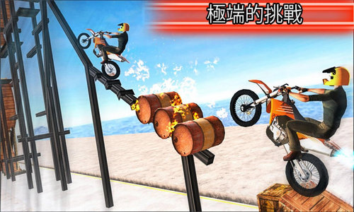 摩托车特技表演下载