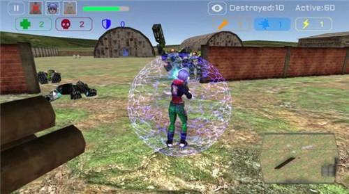 幽灵小队战斗机器人安卓版