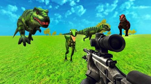 恐龙狩猎模拟器2020游戏汉化版下载