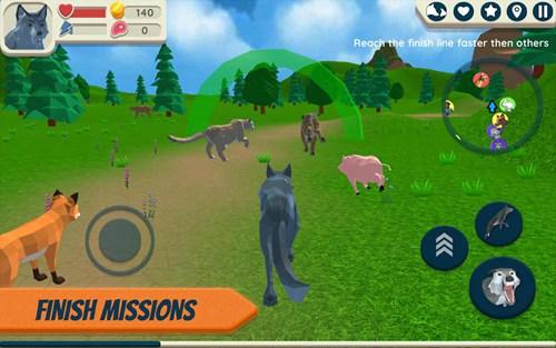 野狼模拟器中文版破解版
