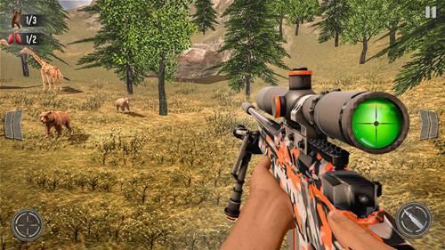 野鹿狩猎丛林射手游戏官网版下载