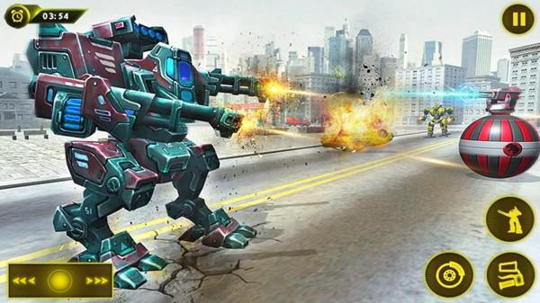 机甲军团机器人大战3d下载