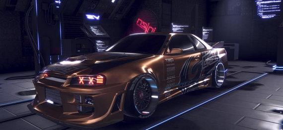 爆裂金属赛车