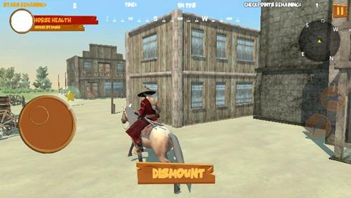 西部牛仔骑马对决手游最新版