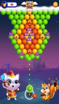 猫岛泡泡龙游戏手机版下载