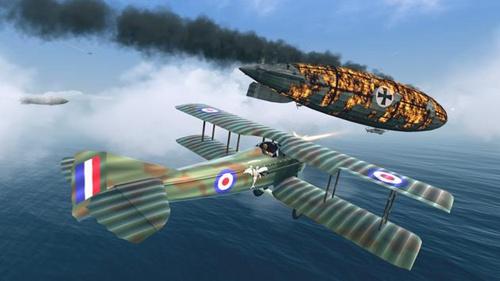 空战战机飞行员先锋无限金币版下载