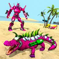 机器人鳄鱼模拟器游戏最新版
