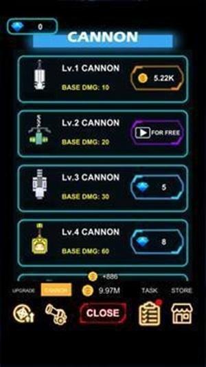 大炮防御科幻闲置游戏手机版