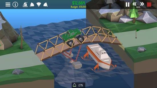 桥梁构造者2官方版游戏下载