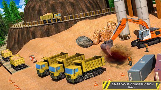 泥沙挖掘机最新破解版
