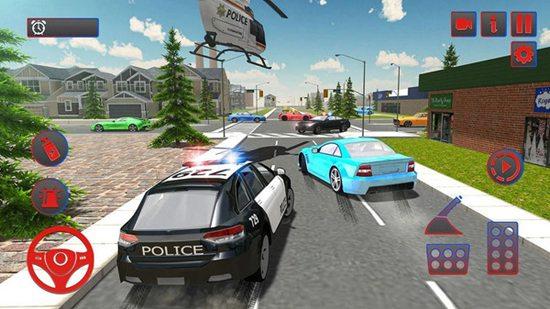 警车模拟器追缉最新中文版 警车模拟器追缉手机版游戏下载 警车模拟器追缉完整破解版