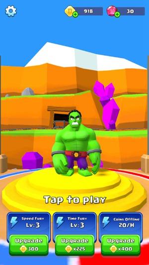 绿巨人奔跑粉碎游戏安卓版