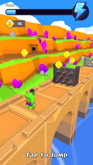 绿巨人奔跑粉碎手游游戏下载
