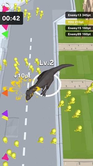 恐龙横行无限金币版
