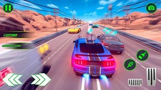 射击赛车追逐赛官方版游戏下载