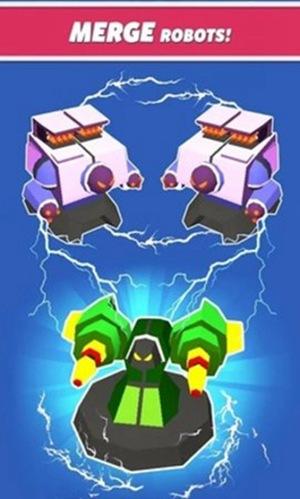 合并塔防机器人无限金币破解版