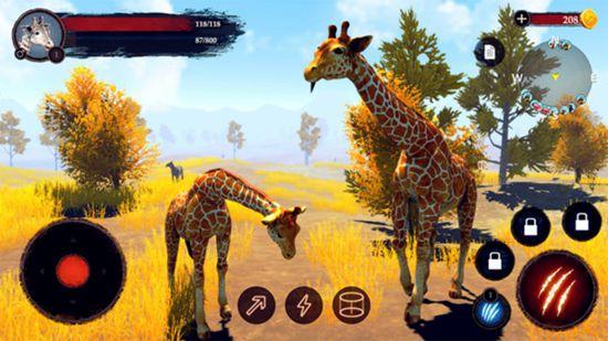 沙雕长颈鹿模拟器最新中文版