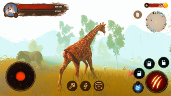 沙雕长颈鹿模拟器中文版