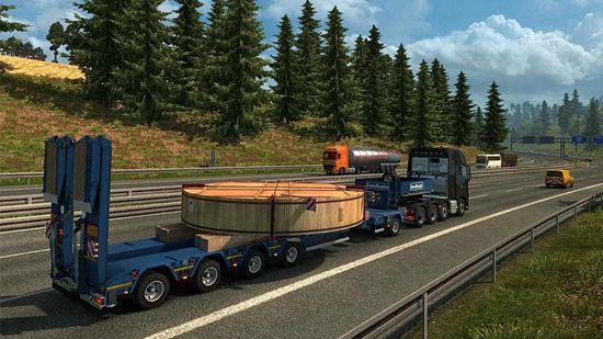 欧洲卡车货运驾驶模拟器中文版