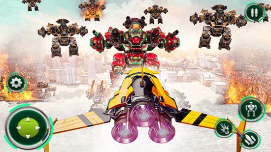 战斗机改造机器人最新版