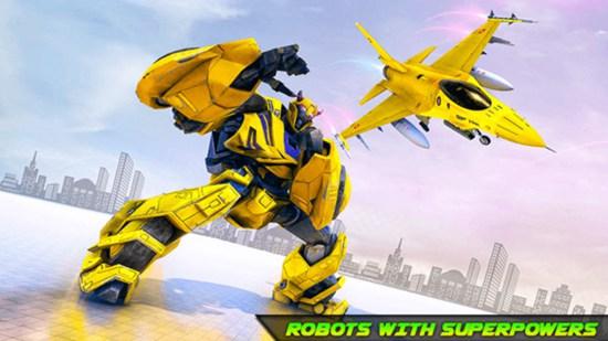 战斗机改造机器人最新安卓版