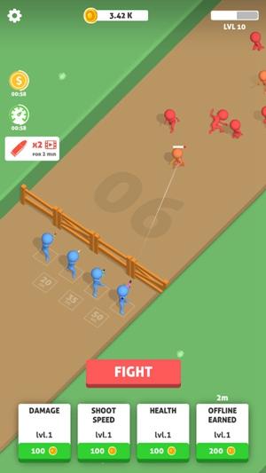 火柴人团战游戏枪战最新中文版