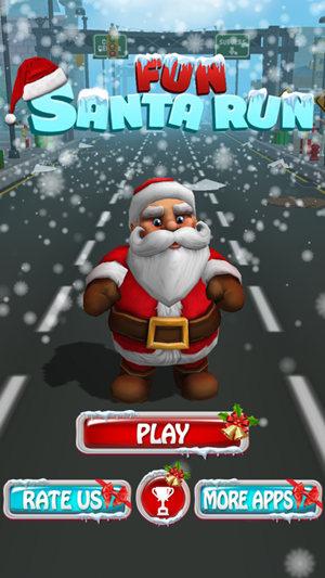 欢乐圣诞老人跑酷最新版