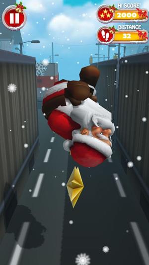 欢乐圣诞老人跑酷最新安卓版