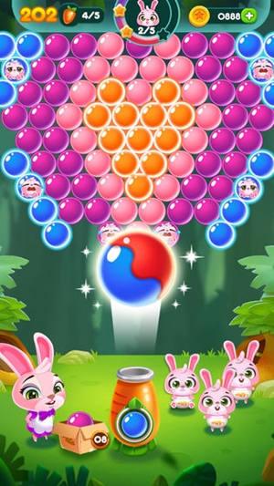 兔子泡泡龙动物森林最新正式版