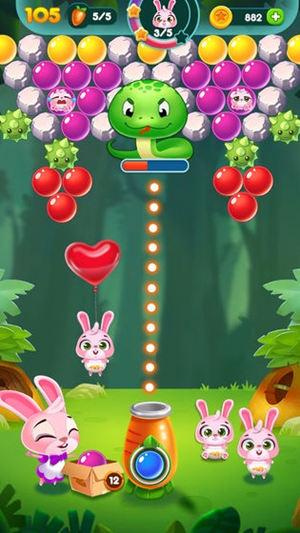 兔子泡泡龙动物森林正式最新版