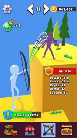 空闲弓箭手卫队中文版游戏下载