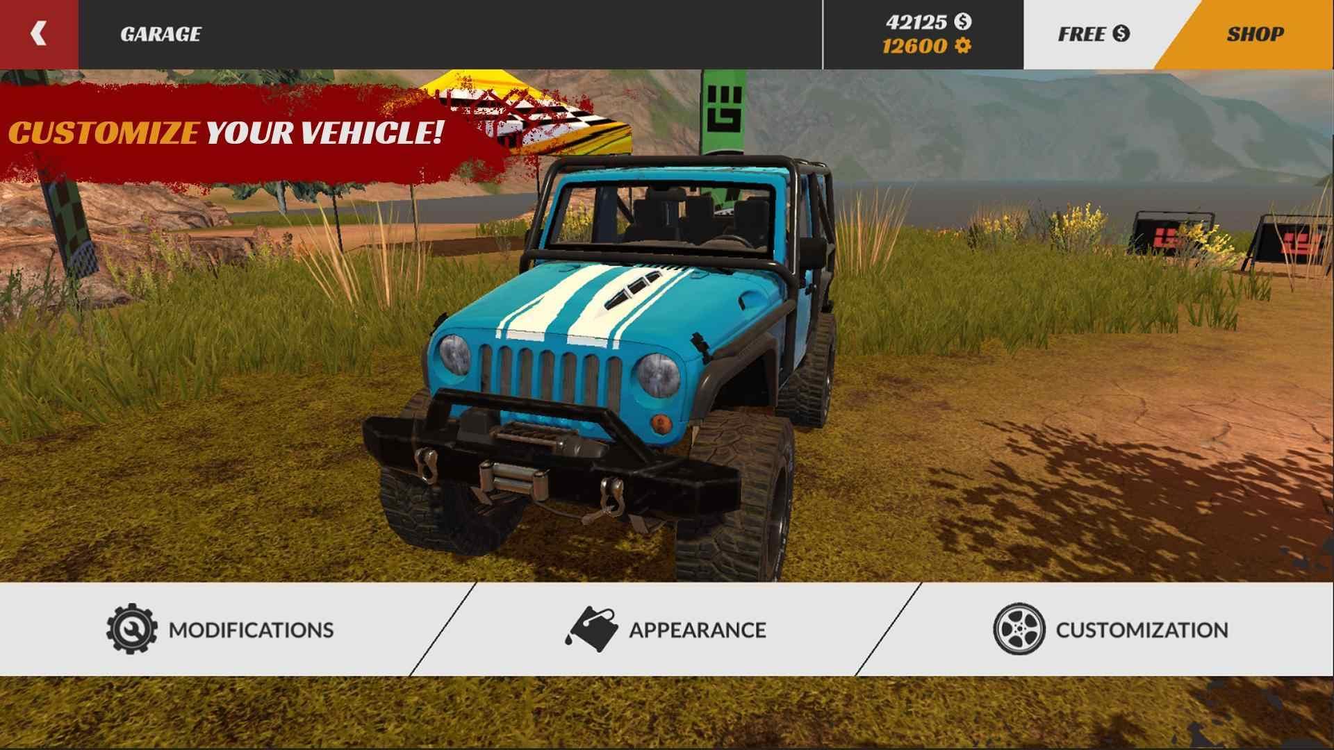 越野驾驶模拟专业版破解版