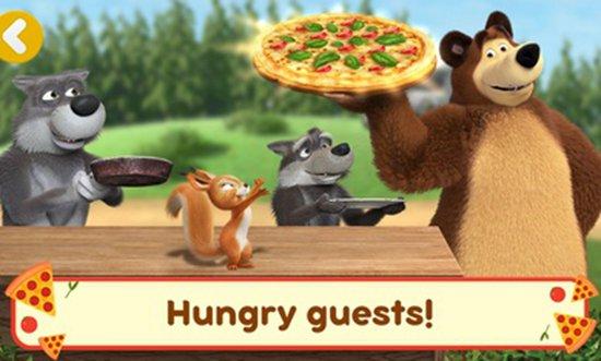 玛莎与熊披萨店最新中文版