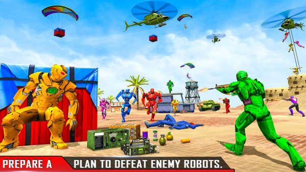 机器人小分队破解最新版