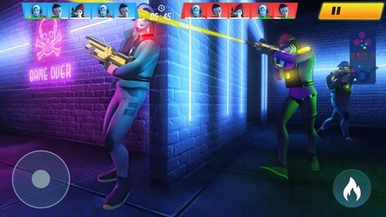 激光枪射击超级战争游戏下载