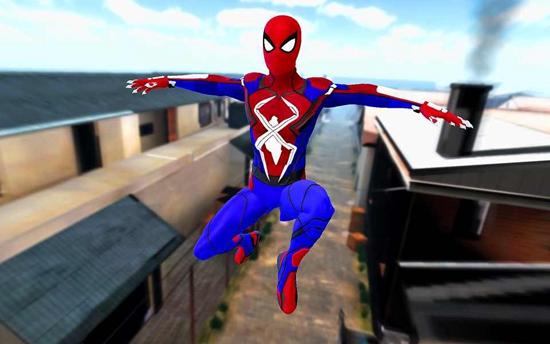 英雄蜘蛛绳战斗大佬市模拟器游戏下载