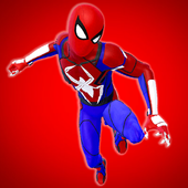 英雄蜘蛛绳战斗大佬市模拟器安卓版