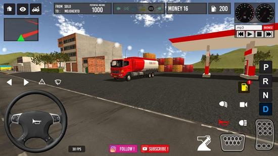 IDBS油罐车模拟器最新版