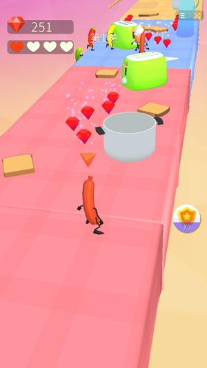 香肠人快跑3D手机版下载