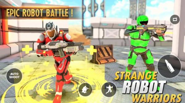 奇怪的机器人战士中文版最新版