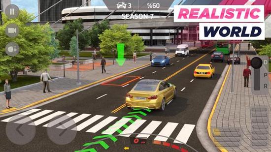 真实停车场城市驾驶游戏下载