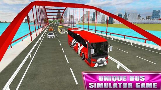 巴士模拟器新城市教练巴士2020版