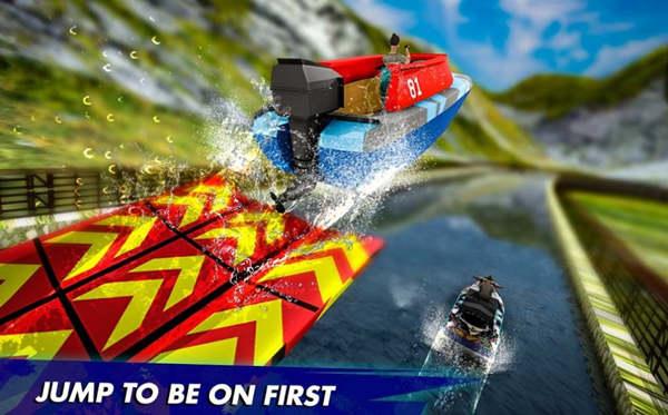 快艇水上赛车特技2020手机版