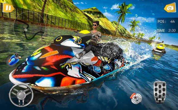 快艇水上赛车特技2020安卓版