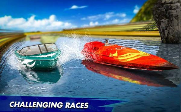 快艇水上赛车特技2020安卓版手机版