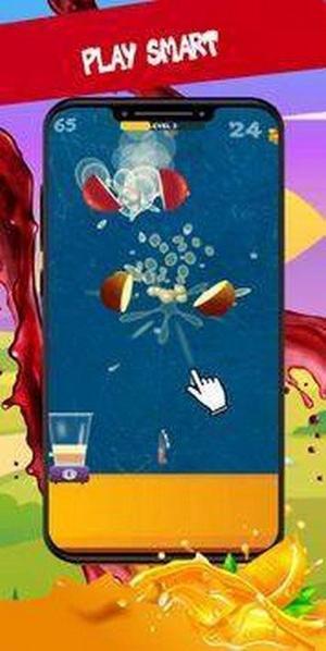 水果切成碎片小游戏免费版